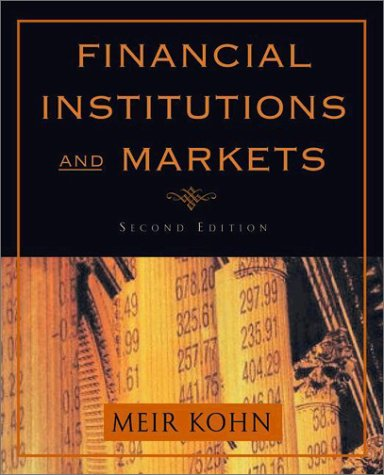 Financial Institutions and Markets  2nd 2003 (Revised) edition cover