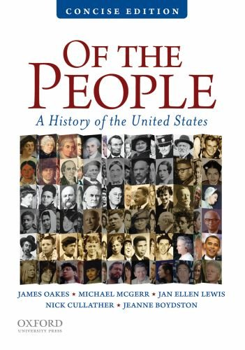 Of the People A Concise History of the United States  2010 edition cover