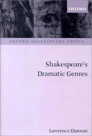Shakespeare's Dramatic Genres   2000 edition cover