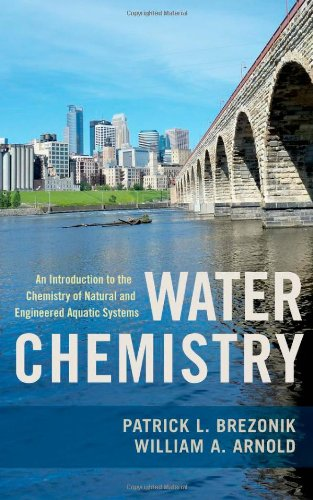 Water Chemistry An Introduction to the Chemistry of Natural and Engineered Aquatic Systems  2011 edition cover
