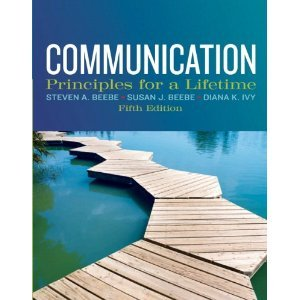 Communication Principles for a Lifetime 5th 2013 edition cover