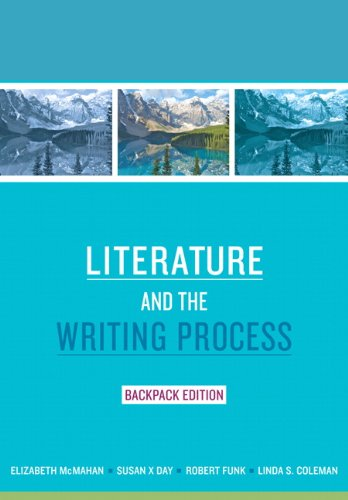 Literature and the Writing Process   2011 edition cover
