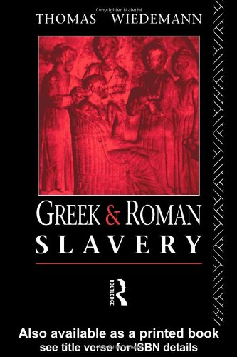 Greek and Roman Slavery   1980 edition cover