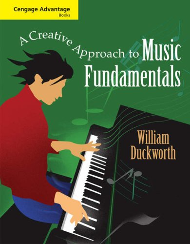 Creative Approach to Music Fundamentals   2009 edition cover