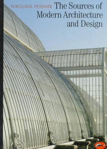 Sources of Modern Architecture and Design   1968 edition cover
