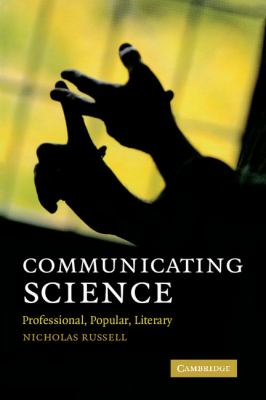 Communicating Science Professional, Popular, Literary  2010 edition cover