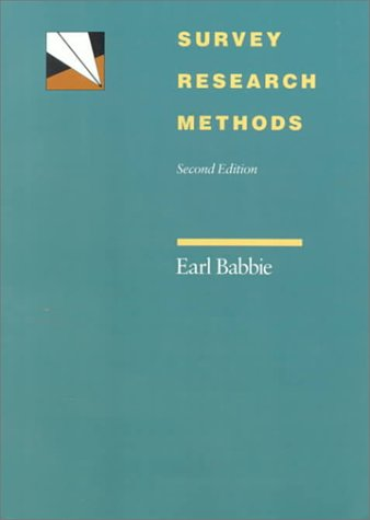 Survey Research Methods  2nd 1990 (Revised) edition cover