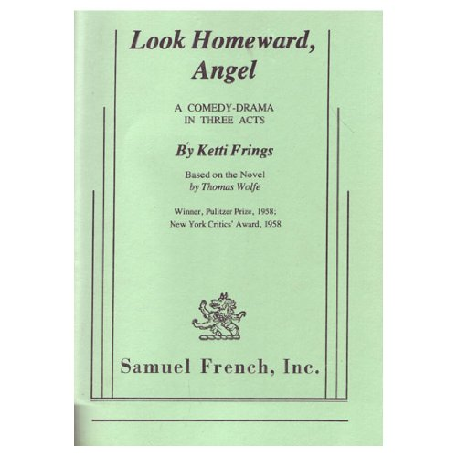 LOOK HOMEWARD,ANGEL N/A 9780573611728 Front Cover