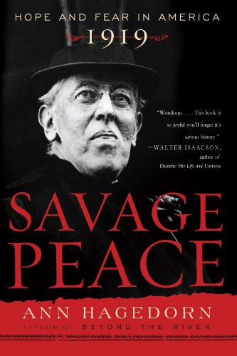 Savage Peace Hope and Fear in America 1919 N/A edition cover