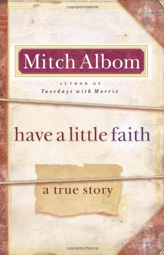 Have a Little Faith A True Story  2009 edition cover