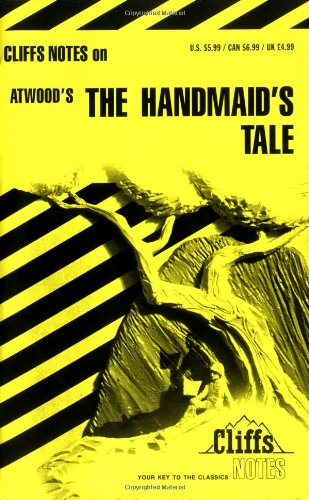 CliffsNotes on Atwood's the Handmaid's Tale   1994 edition cover