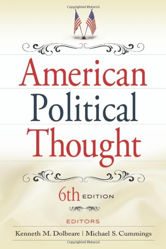 American Political Thought  6th 2008 (Revised) edition cover