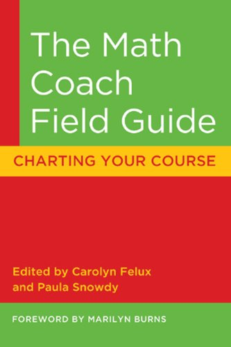 Math Coach Field Guide Charting Your Course  2006 edition cover