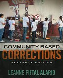 Community Based Corrections:   2016 edition cover