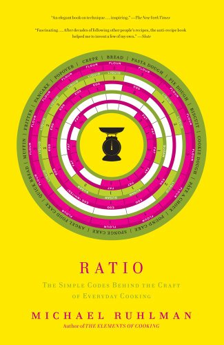 Ratio The Simple Codes Behind the Craft of Everyday Cooking  2010 edition cover