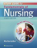 Study Guide for Fundamentals of Nursing The Art and Science of Person-Centered Nursing Care 8th (Revised) edition cover