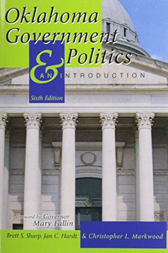 Oklahoma Government and Politics An Introduction 6th (Revised) edition cover