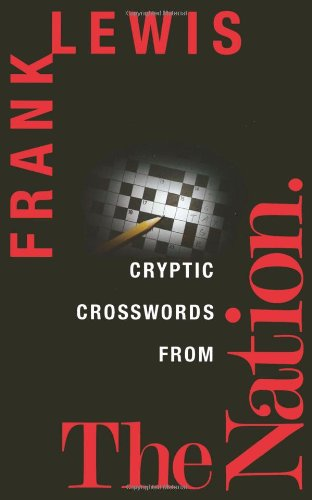 Cryptic Crosswords from the Nation  N/A 9781560258728 Front Cover