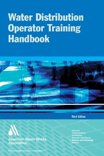 Water Distribution Operator Training Handbook  3rd 2005 (Revised) edition cover