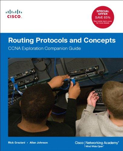 Routing Protocols and Concepts CCNA Exploration Companion Guide  2012 edition cover
