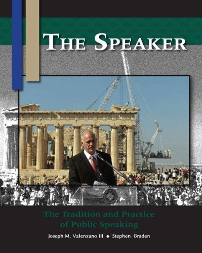 Speaker N/A edition cover