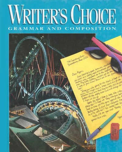 Writer's Choice : Grammar and Composition  1996 9780026358729 Front Cover