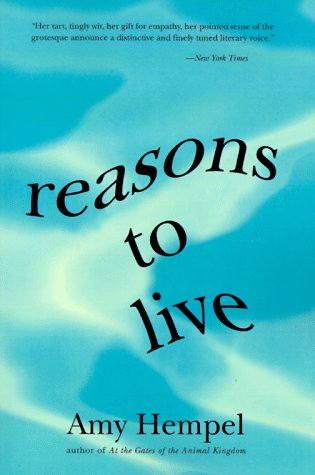 Reasons to Live Stories By N/A 9780060976729 Front Cover