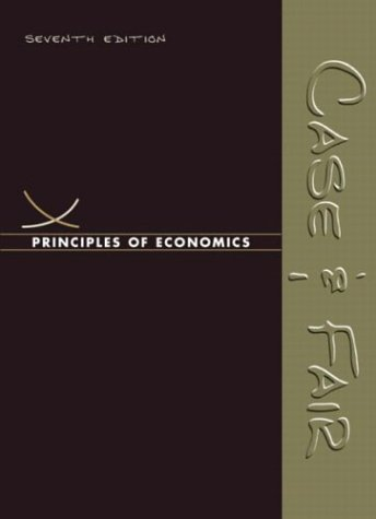 Principles of Economics  7th 2004 edition cover