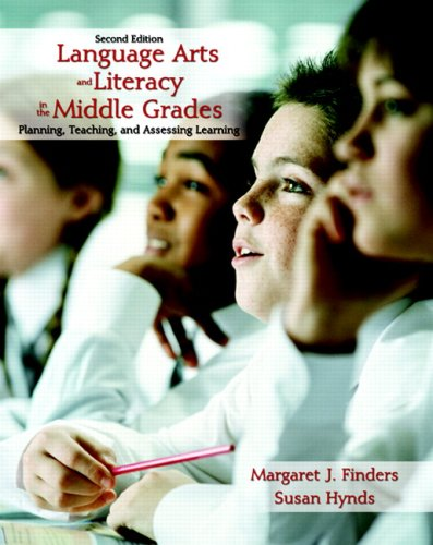 Language Arts and Literacy in the Middle Grades Planning, Teaching, and Assessing Learning 2nd 2007 edition cover