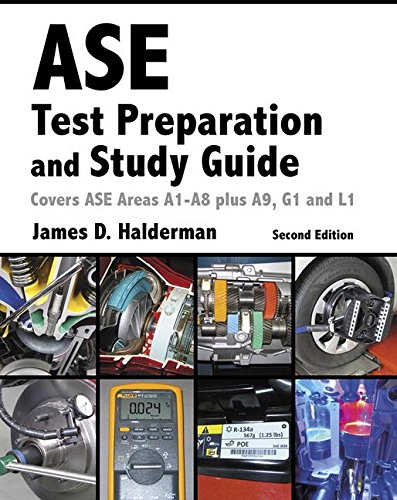 ASE Test Prep and Study Guide  2nd 2017 9780134169729 Front Cover