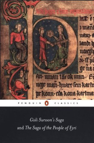 Gisli Sursson's Saga and the Saga of the People of Eyri   2003 edition cover