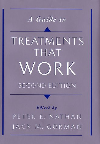 Guide to Treatments That Work  2nd 2002 (Revised) edition cover
