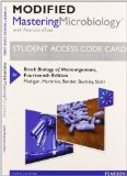 MasteringMicrobiology with Pearson EText -- Standalone Access Card -- for Brock Biology of Microorganisms  14th 2015 edition cover