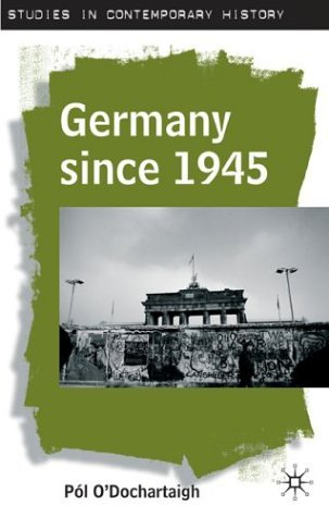 Germany since 1945   2014 (Revised) edition cover