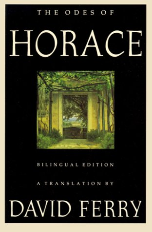 Odes of Horace Bilingual Edition N/A edition cover