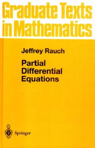 Partial Differential Equations   1991 edition cover