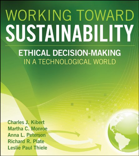 Working Toward Sustainability Ethical Decision-Making in a Technological World  2012 edition cover