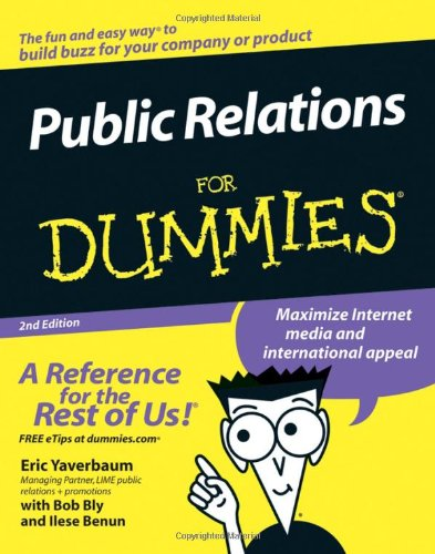 Public Relations for Dummies�  2nd 2006 (Revised) edition cover