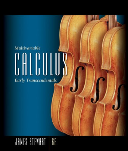 Multivariable Calculus Early Transcendentals 6th 2008 edition cover