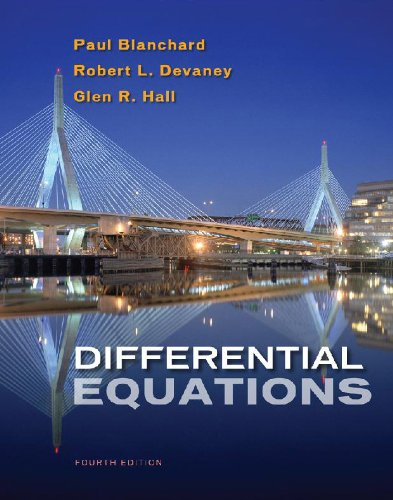 Differential Equations  4th 2011 edition cover
