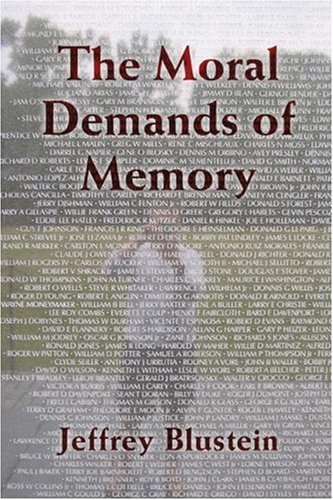 Moral Demands of Memory   2008 edition cover