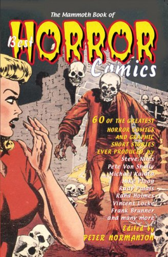 Mammoth Book of Best Horror Comics  N/A edition cover