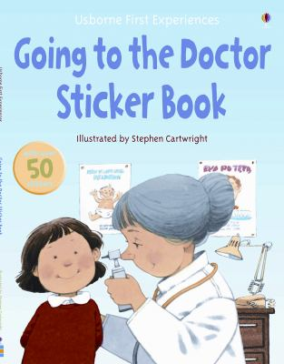 Going to the Doctor Sticker Book  2009 edition cover