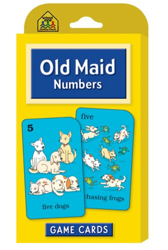 Old Maid Numbers  Revised 9780887432729 Front Cover