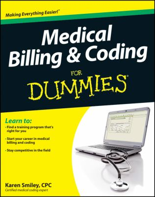 Medical Billing and Coding for Dummies   2012 9781118021729 Front Cover