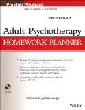 Adult Psychotherapy Homework Planner  5th 2014 edition cover