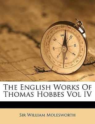 English Works of Thomas Hobbes N/A edition cover