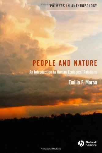 People and Nature An Introduction to Human Ecological Relations  2006 (Revised) edition cover