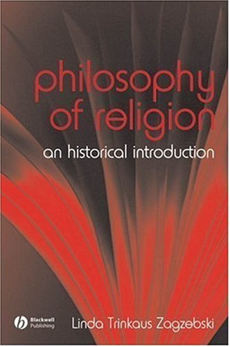 Philosophy of Religion An Historical Introduction  2007 edition cover