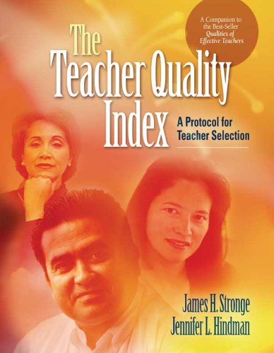 Teacher Quality Index A Protocol for Teacher Selection  2006 edition cover